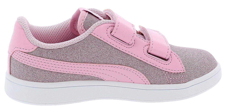 Puma 367378 12, Baskets pour Fille Rose RosaArgento: Amazon