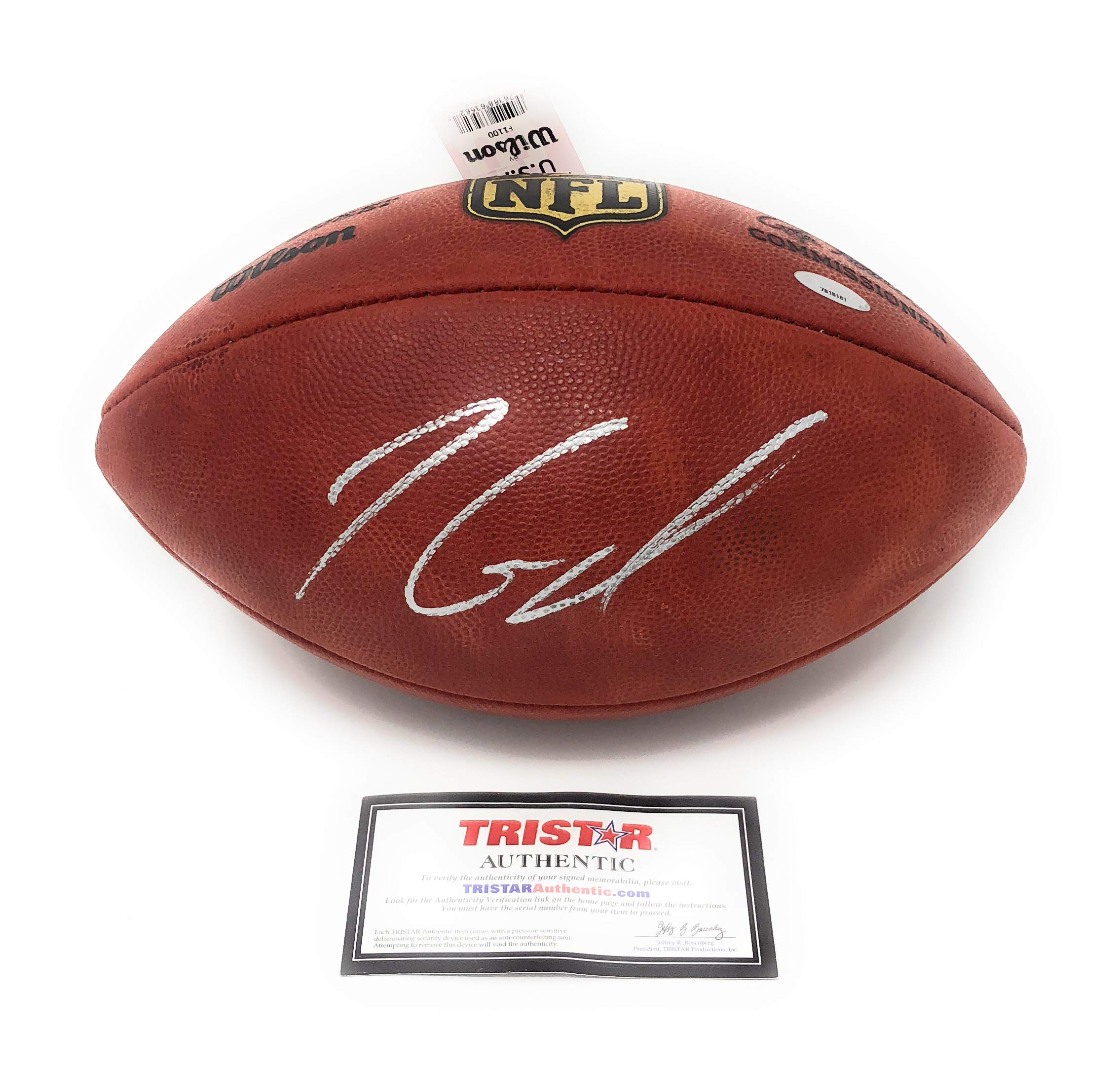 Jimmy Garoppolo San Fransisco 49ers Signed Autograph Authentic NFL On FIeld Duke Football Tristar Authentic Certified
