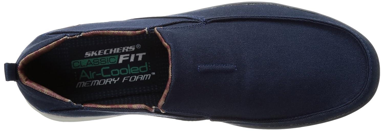 Skechers USA Men's Boyar Lented Slip-on Navy 10.5 M US 65029