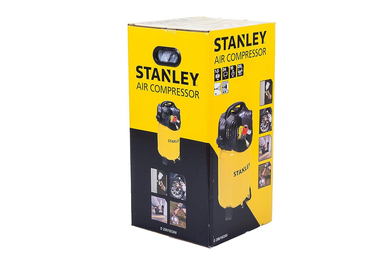 Stanley D200/10/24V - Compresor de aire: Amazon.es: Bricolaje y herramientas