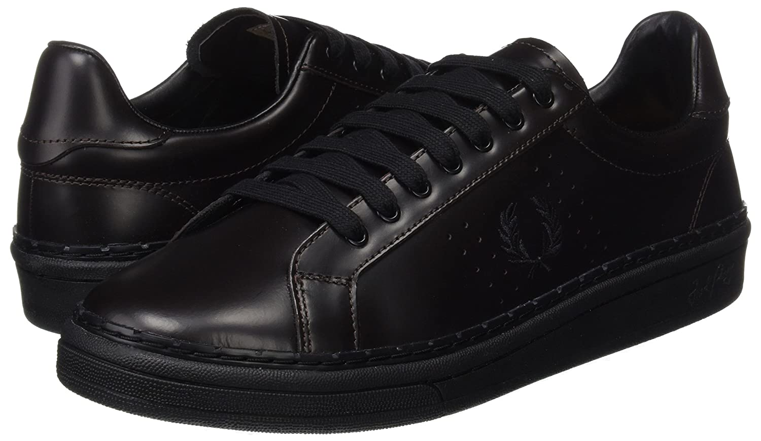Frot Perry Herren B721 High Shine Leather Leather Leather Oxfords 48316a