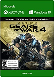 Gears of War 4: Ultimate Edition - Xbox One/Windows 10 Digital Code