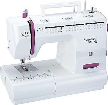 Jata MC740 Máquina de Coser con 66 Diseños de Puntada Pespunte y ...