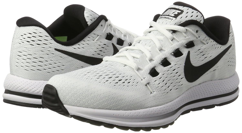 12.5 M US White//Black-Pure Platinum Nike Mens Air Zoom Vomero 12