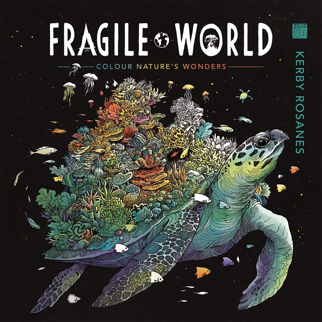 Fragile World: Colour Nature's Wonders (Colouring Books) 50% OFF £5 @ Amazon