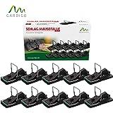 Gardigo Mausefalle 10er Set, Schlagmausefalle, Schlagfalle, Mäuse Falle (10 Stück) | Deutscher Hersteller