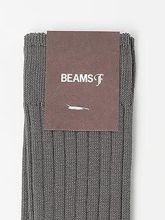 Cotton Nylon Rib Socks 21-43-0064-377: Mid Grey