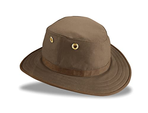 eac8886e Tilley TWC7 Outback Waxed Cotton Hat Olive 67/8: Amazon.ca: Jewelry