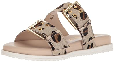 2f4e6c0e5 Naughty Monkey Women s Hey Pony Sandal Leopard 6 ...