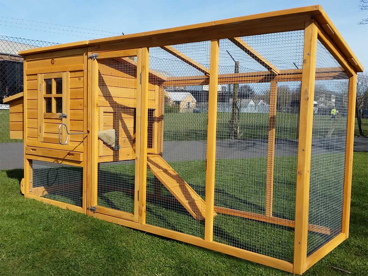 Designer Chicken Coops Uk