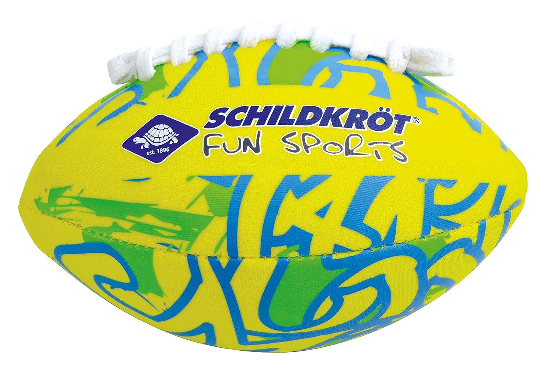 Schildkröt Fun Sports 970283 Ballon de Football américain Mixte Enfant, Multicolore, SCHA3|#Schildkröt Fun Sports schildkroet-funsports_970283