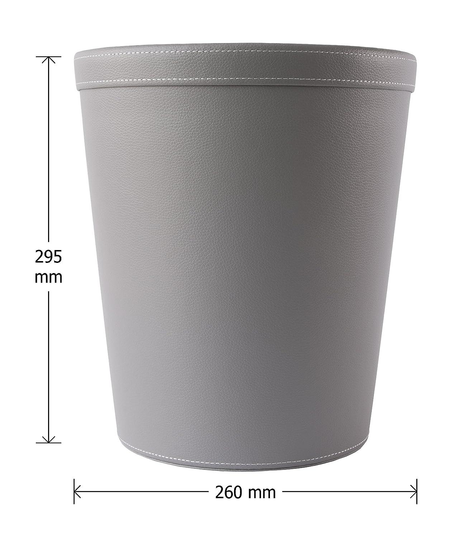 colore grigio 29/cm Osco GRYPUWB29/spazzatura in ecopelle