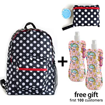 Amazon.com   Foldable Backpack Light Weight and Durable fd55b6bfb867c