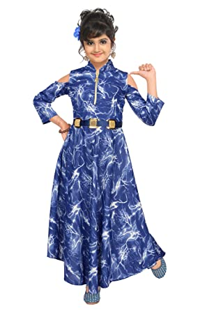 e274e8566b ARK DRESSES Glam Girl Gown Dress  Amazon.in  Clothing   Accessories