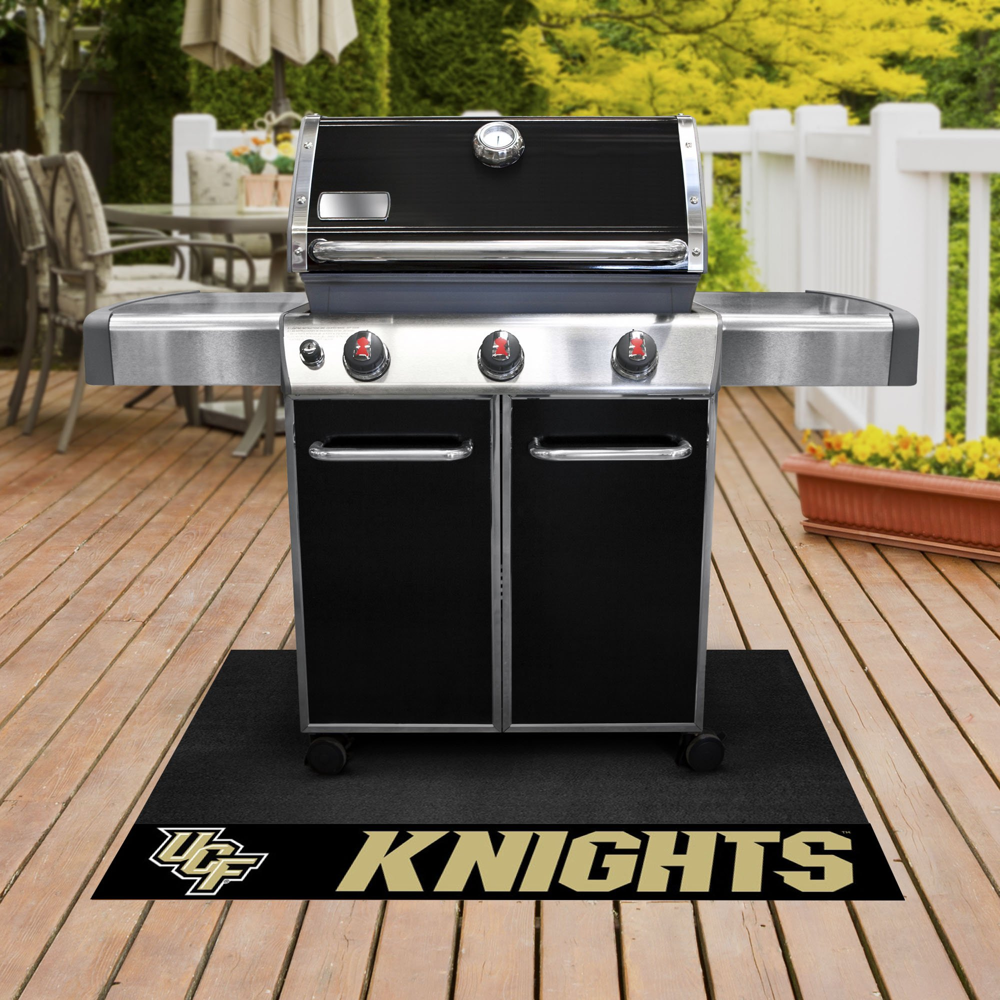Fanmats NCAA Central Florida Golden Knights University of Floridagrill Mat, Team Color, One Size by Fanmats