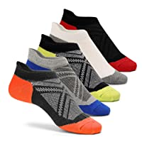 Cassiecy 5 Paar Sneaker Socken Herren Damen kurze Bunt atmungsaktiv Baumwolle Sportsocken, Größen: 35-39, 39-44