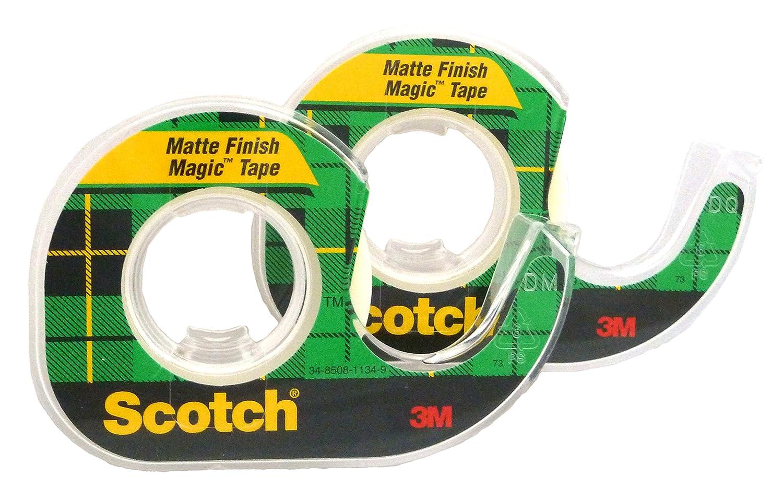 Scotch Magic Tape, 1/2 x 450 Inches, 2-PACK 3M Scotch MMM104-B