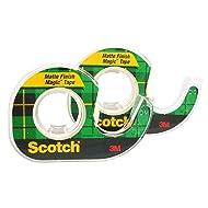 Scotch Magic Tape, 1/2 x 450 Inches, 2-PACK