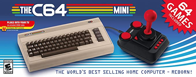 The C64 Mini: not_machine_specific: Computer and Video Games