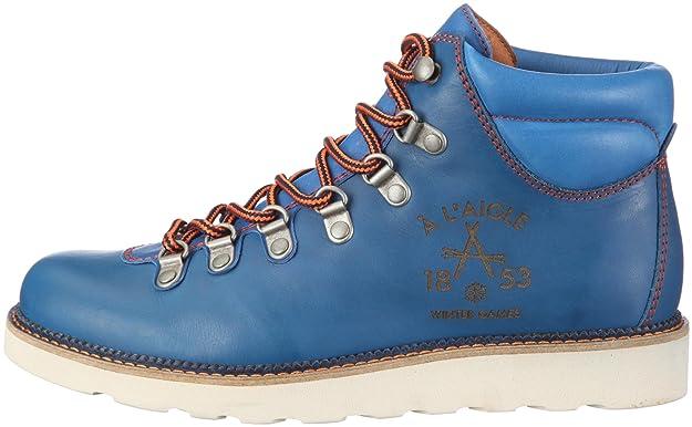 P318 Blauartic Aigle Hall Bleu Basses Chaussures Femme Luggers aOqfOwxE