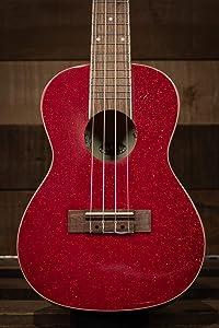 Kala KA-SPRK-RED Ritzy Red Concert Ukulele