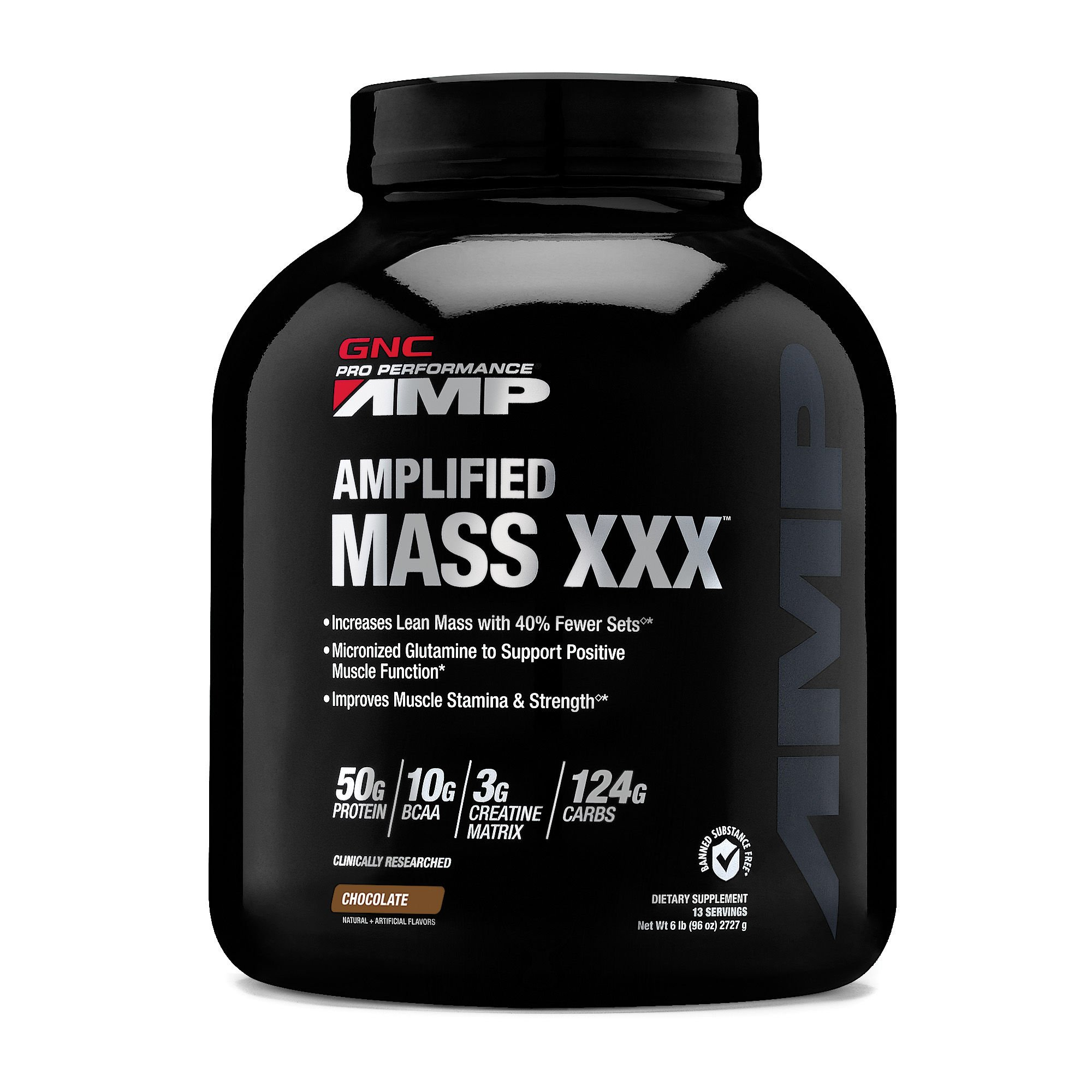 GNC Pro Performance AMP Amplified Mass XXX - Chocolate
