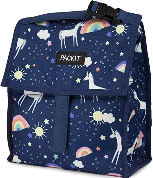PackIt Lunch Bag Bolso portalimentos congelable, Adultos Unisex ...