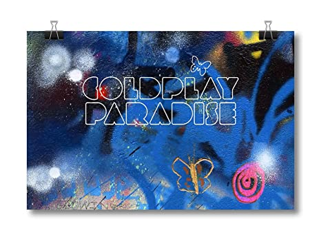Coldplay Paradise Poster Pl3084 Amazonin Home Kitchen