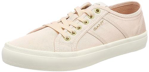 Gant ZOE, Zapatillas Para Mujer, Beige (Cream), 39 EU