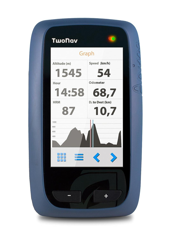 Anima GPS GPS TwoNav randonné/Fahrrad/Marineblau