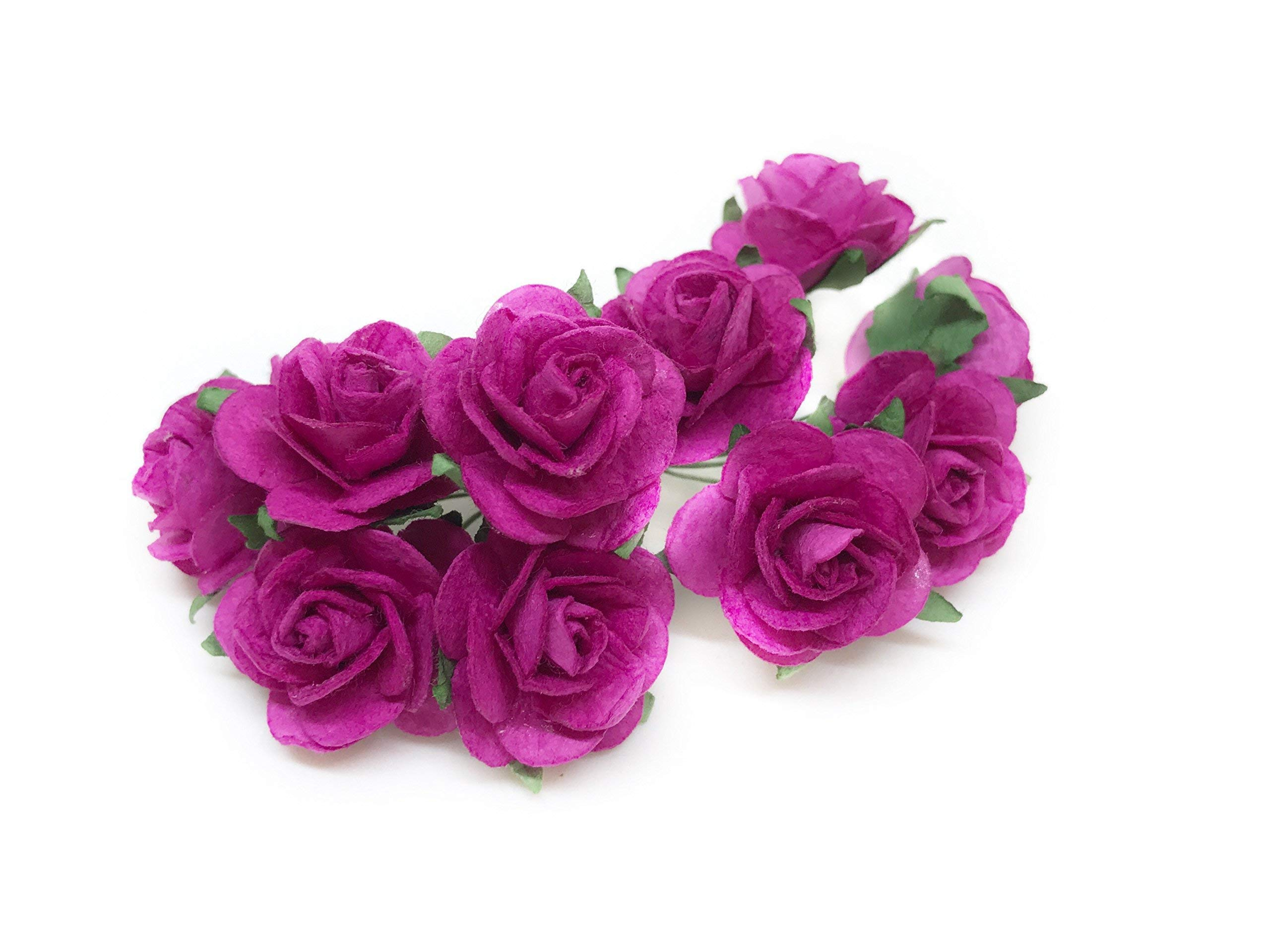 Savvi-Jewels-1-Fuchsia-Pink-Paper-Flowers-Paper-Rose-Artificial-Flowers-Fake-Flowers-Artificial-Roses-Paper-Craft-Flowers-Paper-Rose-Flower-Mulberry-Paper-Flowers-20-Pieces