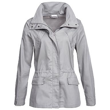 size 40 2a0ff 5bdbb Damenjacke Übergangsjacke Jacke Longjacke Reine Baumwolle ...