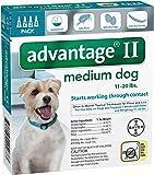 Advantage II Medium Dog 4-Pack