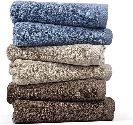 Newark Blue Light Blue 13in X 13in Details about  /Fieldcrest 100/% Cotton Washcloths Set of 6