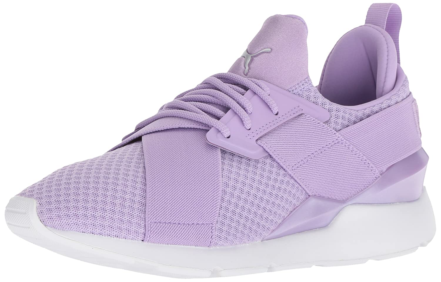 PUMA Women's Muse En Pointe WN's Sneaker B076KRYSGD 9.5 M US|Purple Rose-puma White
