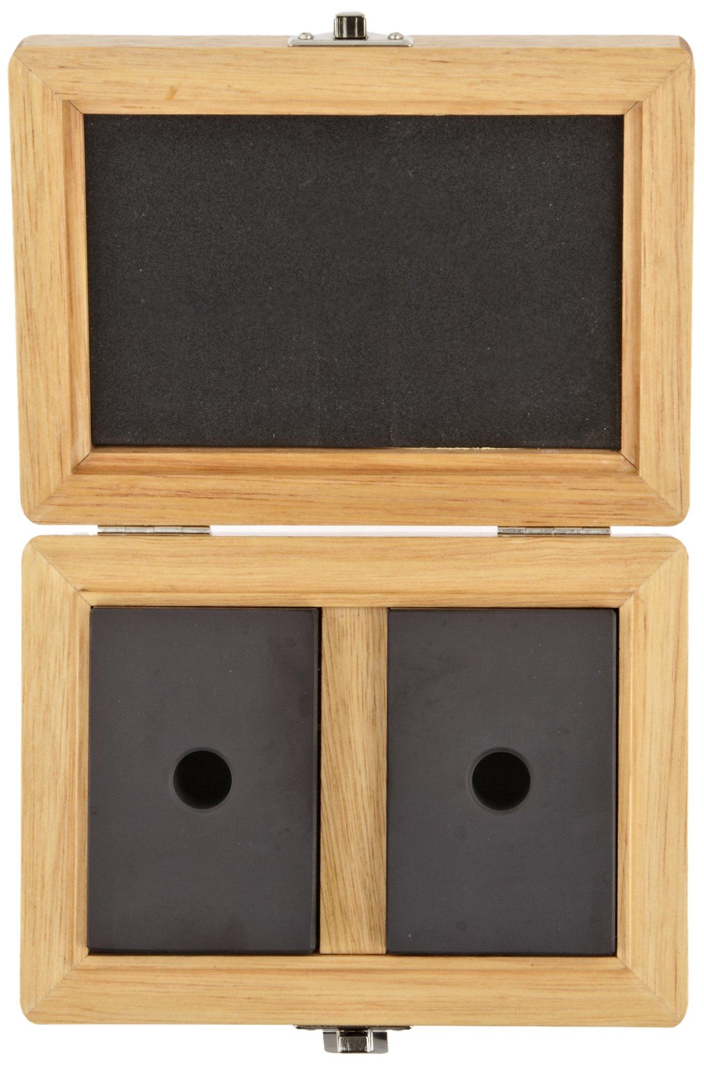 Fowler 53-439-101 Zirconia Ceramic 1-2-3 Blocks, 1'' Thickness x 2'' Width x 3'' Length