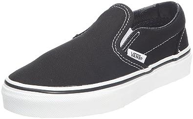 Classic black vans slip ons | baskets | Chaussure, Vans