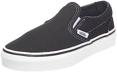 ee52fae7cf Vans Unisex Child Classic Slip On - Black - 11.5  Amazon.com.mx ...