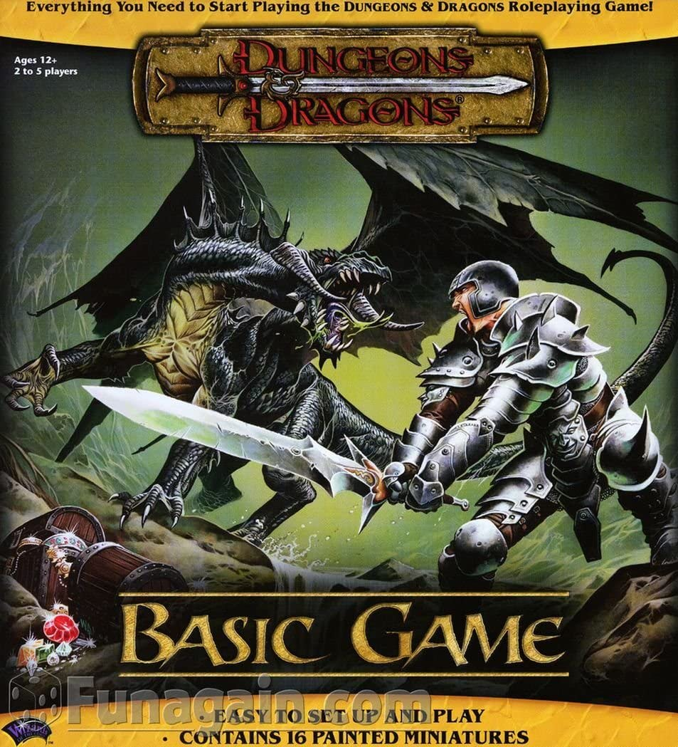 Amazon Com Dungeons Dragons Basic Game Dungeons Dragons Game D D Game Tweet Jonathan Toys Games