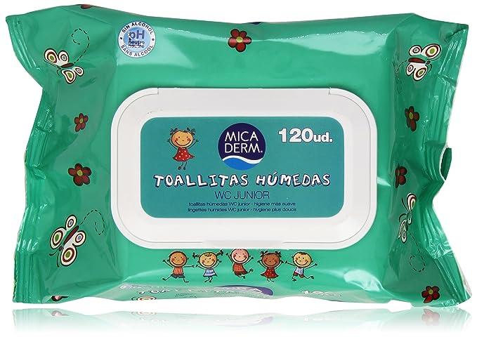 Mica Derm - Toallitas Húmedas - WC Junior - 120 unidades