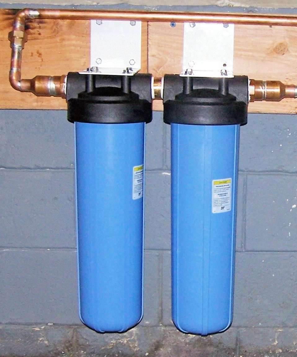 Home Water Filter >> Aqua Filter Plus Ww20cs Whole House Filtration System Undersink