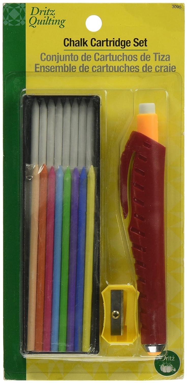 Dritz 3095 Quilting Chalk Cartridge Set