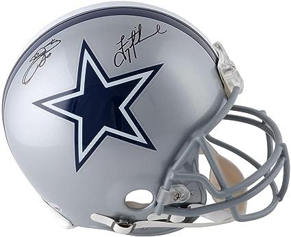 8c13c8b2bfe Emmitt Smith & Troy Aikman Dallas Cowboys Autographed Riddell Pro-Line  Helmet - Fanatics Authentic