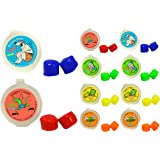 Putty Buddies Floating Earplugs 10-Pair Pack - Soft Silicone Ear Plugs for Swimming & Bathing - Invented by Physician - Keep Water Out - Premium Swimming Earplugs - Doctor Recommended