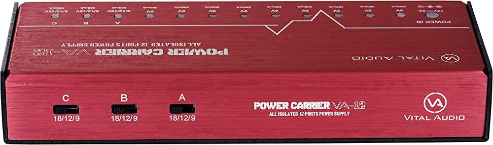 POWER CARRIER VA-12:リアパネル