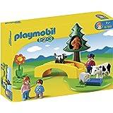 Playmobil - 6788 - Figurine - Famille Avec Animaux De La Prairie