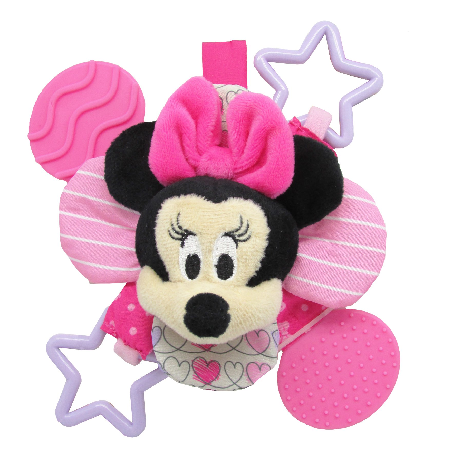 Minnie Bow Cute Petal Teether Rattle