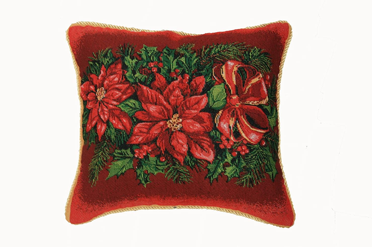 Holiday Christmas Poinsettia Design