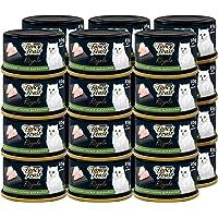 طعام القطط الرطب الفاخر بورينا بمزيج من الدجاج المشوي من فانسي فيست 85 غرام (24 علبة)