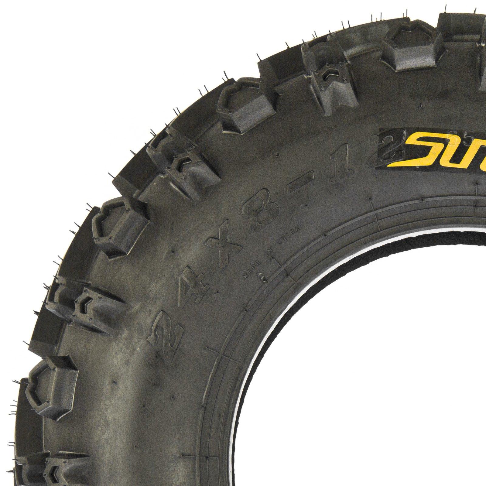 SunF All Trail & Mud ATV UTV Tires 24x8-12 24x10-11 6 PR A041 (Complete Full Set of 4) by SunF (Image #4)